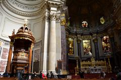 Berlin Cathedral Germany, Berliner Dom - stock photo