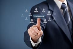 Community concept Stock Photos
