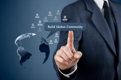 Build global community Stock Photos