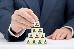 Human resources and CEO Stock Photos