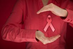 Breast cancer awareness - stock photo