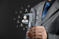 Employee merit success growth - stock photo
