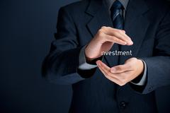 Protect investment - stock photo