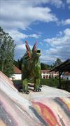 Dinosaur  model - Stegosaurus - stock photo