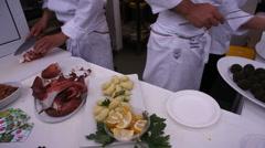 Sicilian food - stock footage