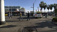Driving Plates Multi Angle Venice 05 CAM1 Front California 60fps Stock Footage