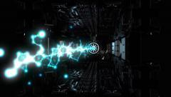 Futuristic Laser Machine Super HD Stock Footage