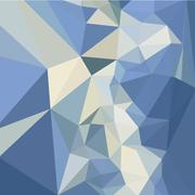 Columbia Blue Abstract Low Polygon Background Stock Illustration