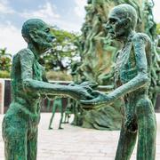 Detail of the Holocaust Memorial on Miami Beach Kuvituskuvat