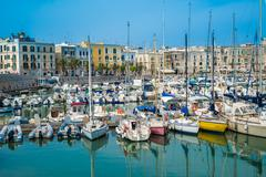 Trani, scenic town at Adriatic sea, Puglia, Italy - stock photo