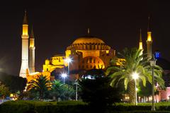 Hagia Sophia museum from Istanbul, turkey - stock photo
