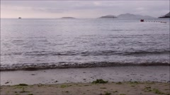 Stock Video Footage of baiona sea