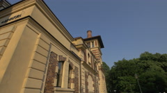 The Miniatura building of Juliusz Słowacki Theatre, Krakow Stock Footage
