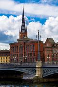 Old Town (Gamla Stan) in Stockholm, Sweden Stock Photos