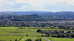 Stirling Castle Scotland Stock Footage