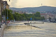 Stock Photo of Flooded Budapest