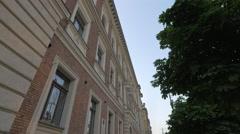 The Jan Matejko Academy of Fine Arts in Krakow Stock Footage