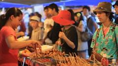 Chamorro Village Night Market Guam,USA - stock footage
