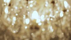 Abstract twinkling lights. Stock Footage