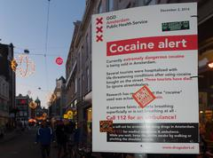 Cocaine alert Stock Photos
