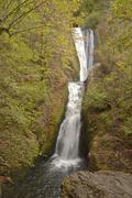Bridal Veil falls Columbia Gorge Oregon. - stock photo