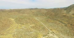 360 Spin Around Aerial of Arizona Desert 4K Stock Footage