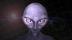 Alien animation Stock Footage