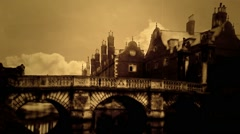 VICTORIAN ENGLAND 3D PHOTO EFFECT Stock Footage