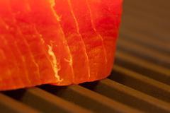 Ahi Tuna on the Grill - stock photo
