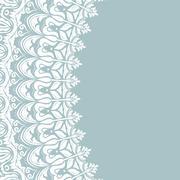 Stock Illustration of Floral Modern  Frame
