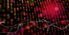 Infected Red Lines With Blanket Motion Stock Footage