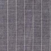 Square background from gray striped woolen fabric Stock Photos