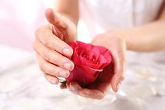 Ritual rose, salon wellness & spa - stock photo