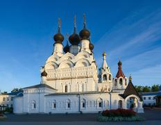 Golden Ring of Russia, Murom. Holy Trinity Convent - stock photo