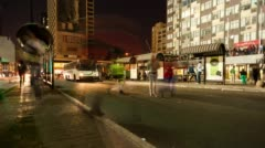 Ghandi Square in the city centre of Johannesburg Stock Footage