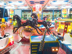 Carousel dreamy that turns Kuvituskuvat
