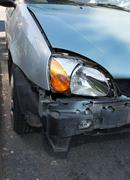 Stock Photo of damaged cars after collision