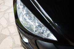 Car front bumper, light Detail Stock Photos