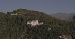 4k landscape of Spain, Granada of a nice villa at summer in slow motion Stock Footage