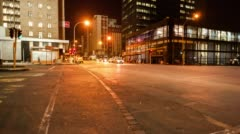 Ghandi Square and the city centre of Johannesburg Stock Footage