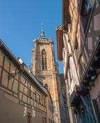 Stock Photo of architectural detail in Colmar