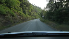 Driving in the south of France. Alpes-Maritimes, France. Stock Footage