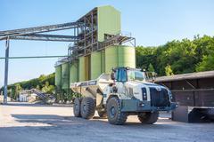 Huge Truck - stock photo