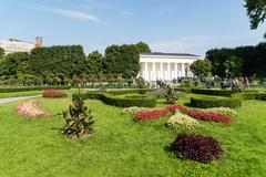 The Volksgarten (People's Garden) In Vienna - stock photo