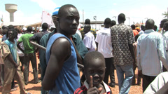 South Sudan Protest Rally Stock Footage