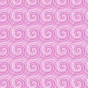 Seamless pattern with abstract spirals Stock Illustration