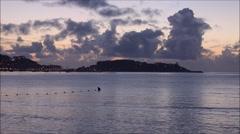 Bay of bayona, galicia, spain Stock Footage