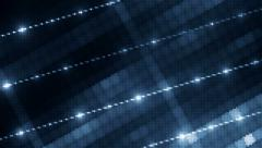 VJ Abstract blue bright mosaic. - stock footage
