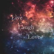 Live laugh love - stock illustration