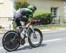 The Cyclist Alexandre Pichot - Tour de France 2014 - stock photo